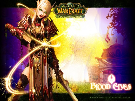 world of warcraft blood elf warlock. 2011 WoW: Blood Elf Warlock by